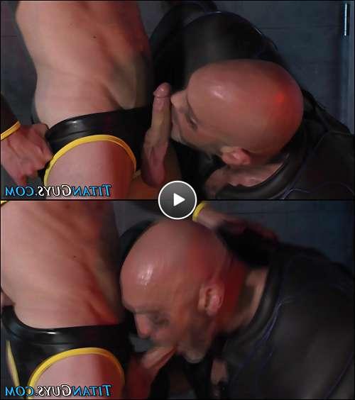 mature gay hung video